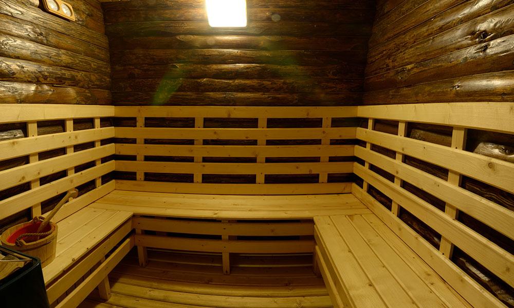 sauna pensiunea andreea baisoara
