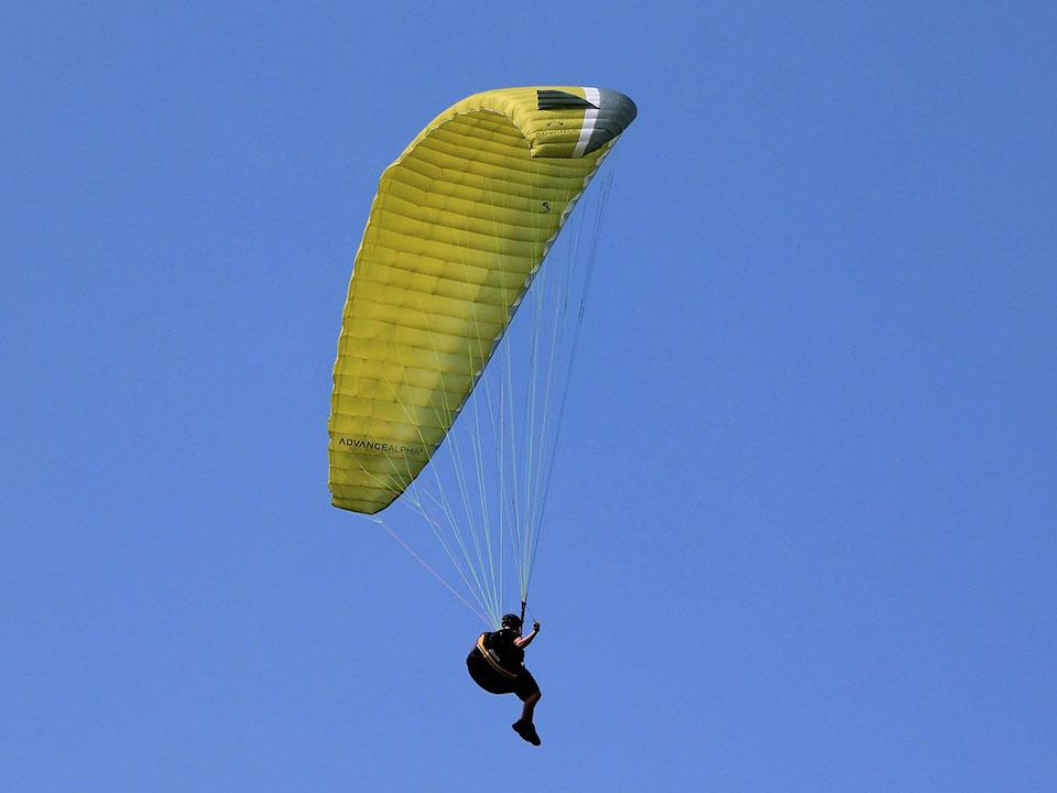 paragliding in baisoara